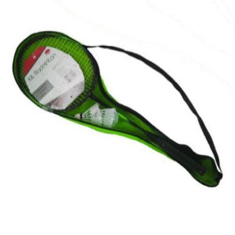 f92e46b9d Kit jogo badminton 5 peças 2 petecas 2 raquetes e 1 bolsa de transporte -  Western