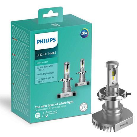 Imagem de Kit Lâmpada Automotiva Philips Ultinon Led H4 6200K