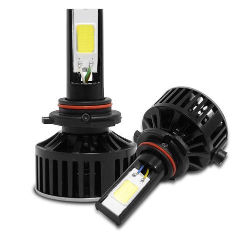 Kit Lâmpada Super LED 7400 Lumens HB4 9006 6000K   Tech One