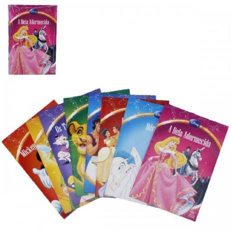 Kit Livro Infantil 8pcs Desenhos Classicos Disney Outros