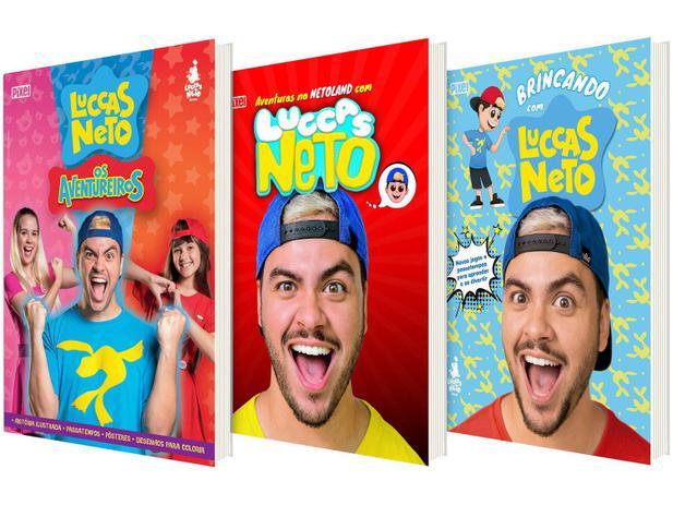 Kit Livros Brincando Com Luccas Neto Luccas Neto Em Os Aventureiros As Aventuras Na Netoland