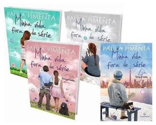 Imagem de Kit Livros - Minha Vida Fora De Série 1 2 3 4 PAULA PIMENTA
