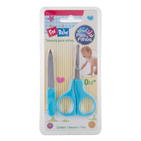 Imagem de Kit manicure 2 peças pais e filhos bebe az