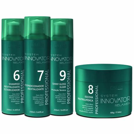 1ed500a48 Kit Manutenção Innovator + Escova Nutrilipidica - Itallian Hairtech ...