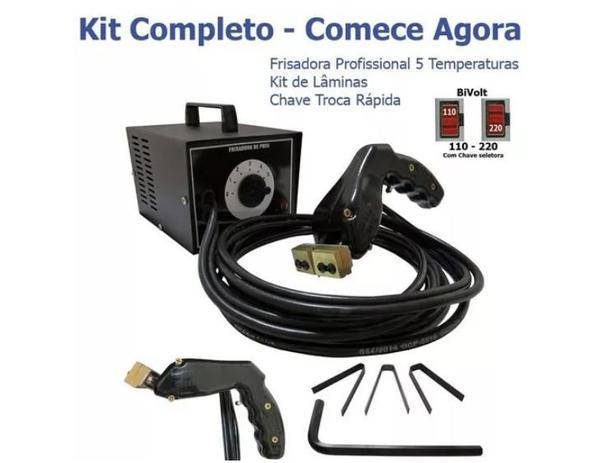 aae625f72 Kit Máquina Riscadora Frisadora De Pneus + Com 20 Lâminas - Gf ...