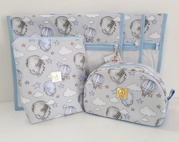 Imagem de Kit Maternidade - 4 Saquinhos E 2 Necessaires