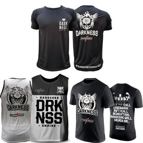 17400f6a2b Kit Melhores Camisetas Darkness Nation Integralmedica Empire - Integral  medica