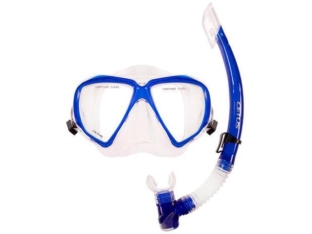 e88969e2945 Kit mergulho máscara+snorkel cetus icaro - Equipamento de Mergulho ...