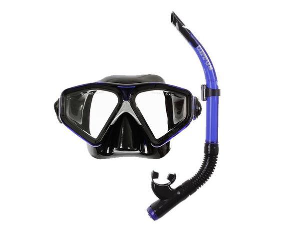 88abb2cba Kit mergulho máscara+snorkel cetus new parma fun - Equipamento de ...