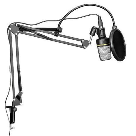Imagem de Kit Microfone Estúdio Sf920 + Pop Filter + Pedestal Suporte