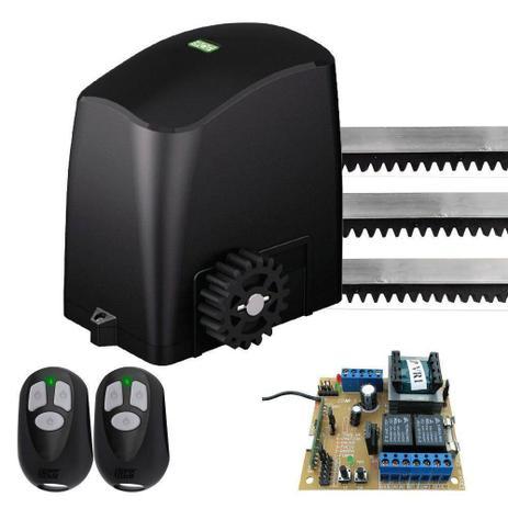 Imagem de Kit Motor de Portão Automatizador Deslizante 1/4 Portão Eletrônico Slider PL RCG 220V