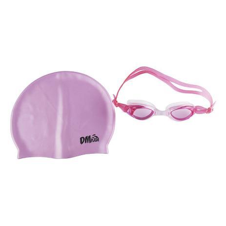 f9978e3da Kit natação com óculos e touca de silicone - Dm brasil - Produtos de ...