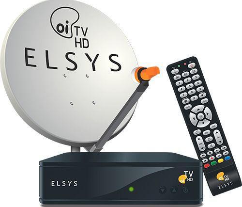 Imagem de Kit Oi TV Livre Digital HD Completo Para Instalação ( 1 Antena com 4 Receptores) - Elsys