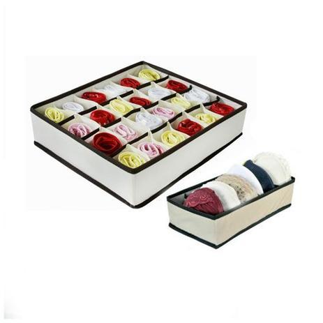 06f47cd3e Kit Organizador de Gavetas (calcinha e sutiã) -2 peças - Vb home ...