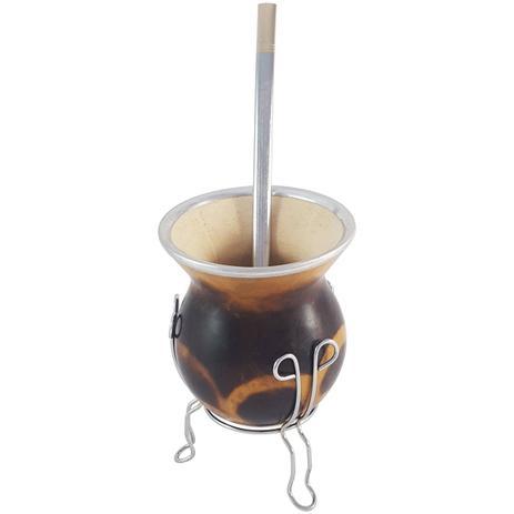 Imagem de Kit Para Chimarrão Mate Tererê Cuia E Bomba Tradicional