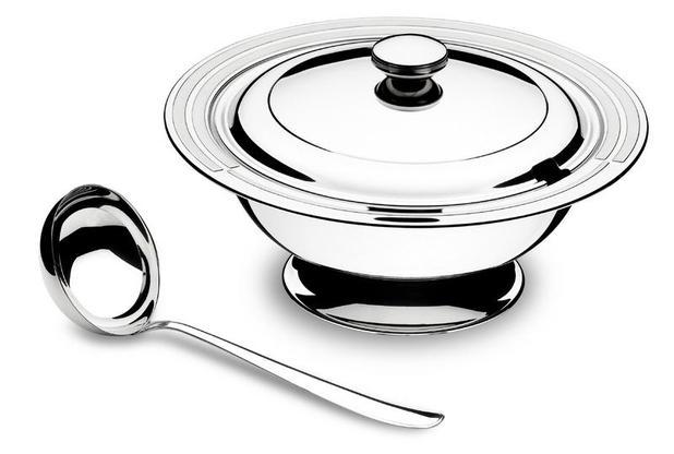 Imagem de Kit Para Sopa Aço Inox 2 Peças Tramontina 64510/310