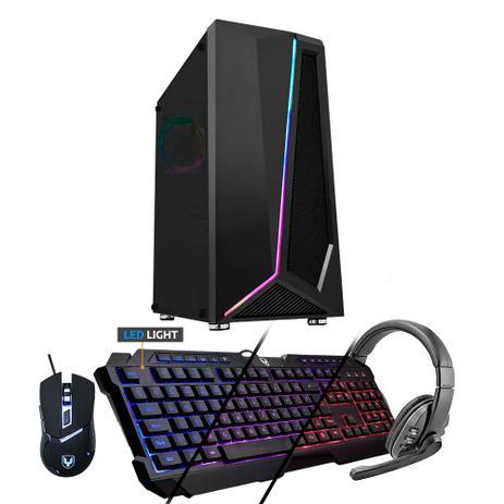 Imagem de Kit - PC Gamer Neologic X NLI81867 Intel G-5900 8GB (Geforce GT 1030 2GB) 1TB