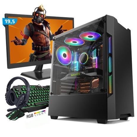 Imagem de Kit PC Gamer Smart SMT81461 Intel i5 8GB (GeForce GTX 1650 4GB) 1TB + Monitor 19,5