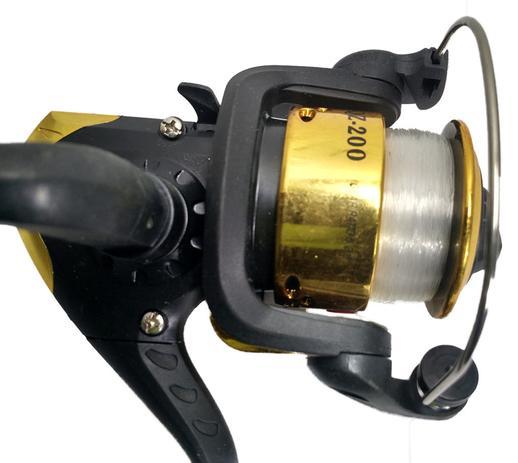 5b8ac2720 Kit Pesca 1 Molinete 3 Rol. 1 Vara 2