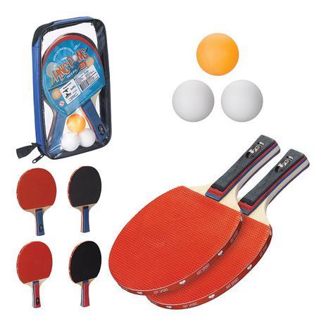 5a353a237 Kit Ping Pong   Tênis de Mesa 2 Raquetes 3 bolas - Zein - Ping Pong ...