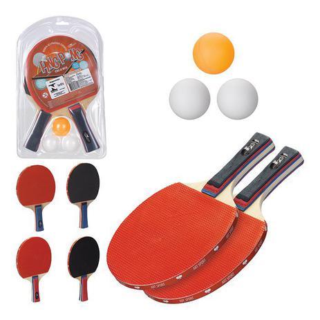 852d17123 Kit Ping Pong Tênis de Mesa com 2 Raquetes e Bolinhas - Art sport ...