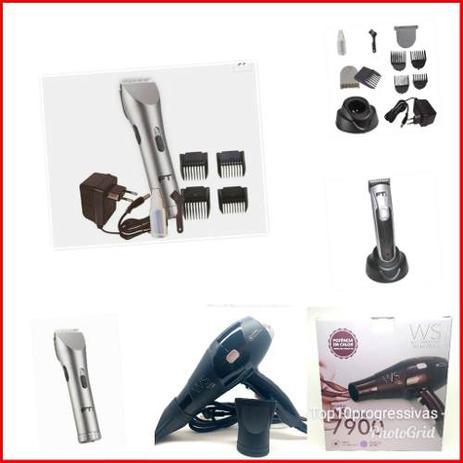 e3a9075fe Kit Profissional Maquina Corte Acabamento E Secador - Ft1 - Máquina ...