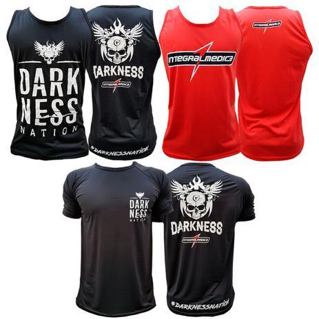 Kit Regata Darkness + Regata Integral + Camiseta Nation - Integral medica 457d71558ac