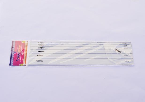 3a2a981cf Kit Réguas Gabarito Cartonagem Encadernação + Fio De Cabelo - Westpress