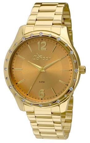 547cb1e79f5 Kit Relógio Condor CO2035KMI K4X Dourado - Relógio Feminino ...