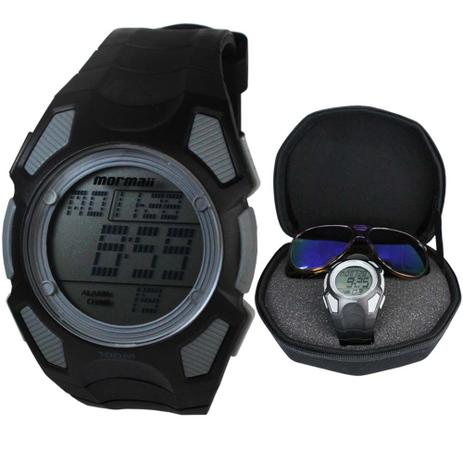 40dbd06dc54e2 Kit Relógio e Óculos Mormaii Masculino MO15OC 43 - Relógio Masculino ...