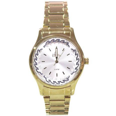 Kit Relógio Feminino Allora AL2036CN K4C - Dourado - Relógio ... a21ae0b4bc