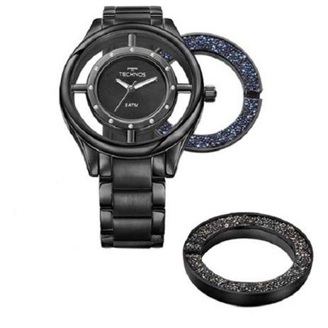 a413ec00af4 Kit Relógio Feminino Technos Signature GL30FM 4P - Preto - Relógio ...