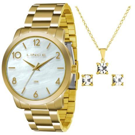 89ea62d5751 kit Relógio Lince Feminino Lrg4374l Ku17b2kx com Semijóia - Relógio ...
