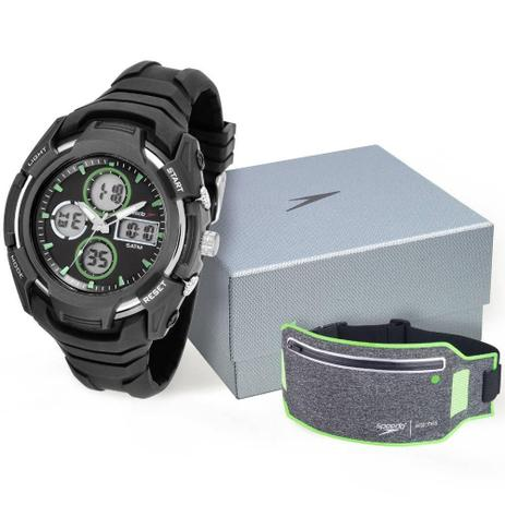 13e3d0ccfba Kit relógio masculino speedo anadigi 81166G0EVNV2K1 ultrasiz ...