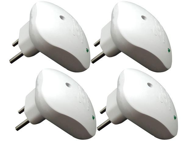 Imagem de Kit Repelente Eletrônico 4 Unidades Ultrassônico