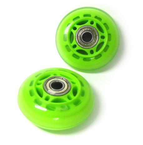 Imagem de Kit Roda de Patins Verde Rodinha Pequena 2 Unidades (RA-A)
