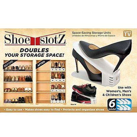 0ddec00de Kit sapateira portatil 12 sapatos organizador de tenis e sapato armario  double 6 pares - Faça resolva
