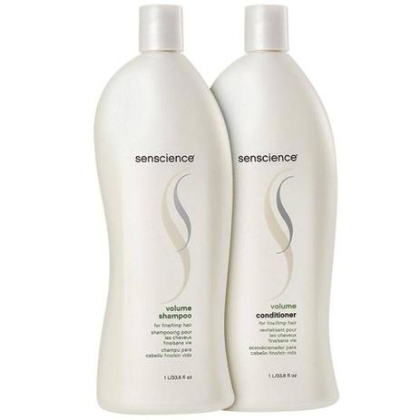 Imagem de Kit Senscience Volume Shampoo E Condicionador 1l