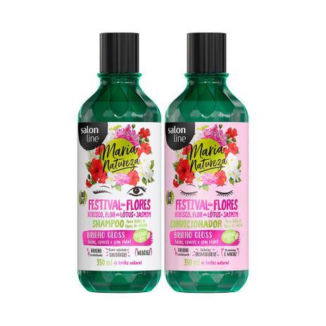 Imagem de Kit Shampoo e Condicionador Maria Natureza Festival das Flores - Salon Line