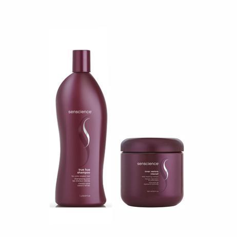 Imagem de Kit Shampoo e Máscara Senscience True Hue (1000ml e 500ml)