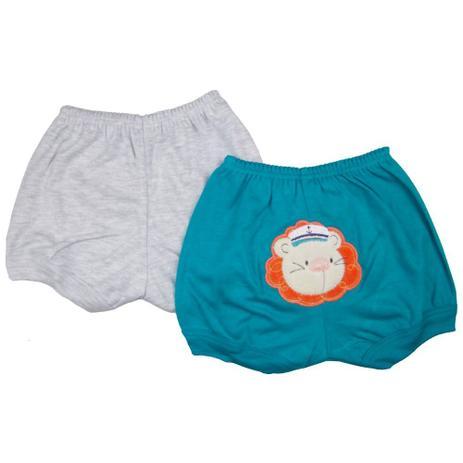Kit Shorts Menino Suedine Leãozinho Marinheiro - Best Club - Best club baby aa0df4e064dc9