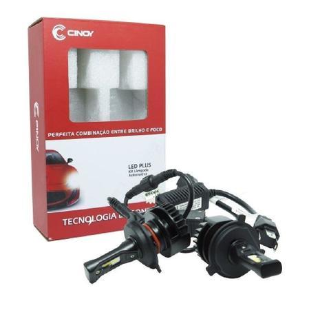 Imagem de Kit super led plus cinoy h11 / h8/h9 - 6500k / 4400lm (12v/24v)