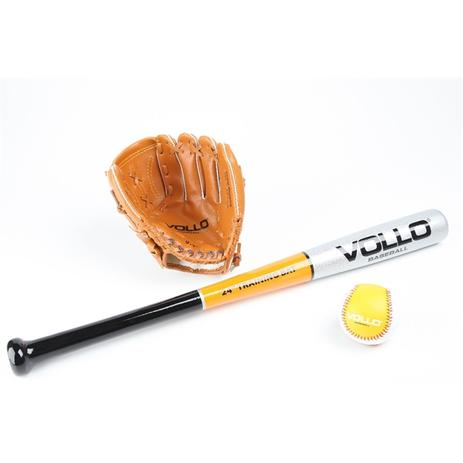 9aeb3771a7188 Kit Taco De Beisebol Vollo - Taco + Luva + Bola - Baseball - Vollo sports
