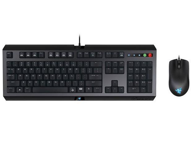 Kit Teclado para Gamer e Mouse - Razer Cyclosa Combo
