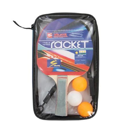 1ec3a3067 Kit Tênis de Mesa (Ping Pong) 2 Raquetes
