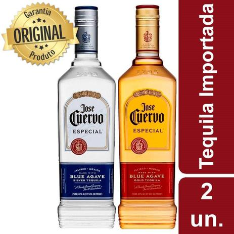 Imagem de Kit Tequila Jose Cuervo Silver & Gold