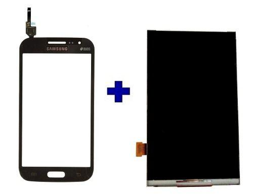 Imagem de Kit Touch + Display Samsung Galaxy Win Duos I8552 Grafite