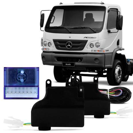 Imagem de Kit Trava Elétrica Específica Caminhão Constellation Accelo 2003 a 2013 2 Portas Mono Serventia