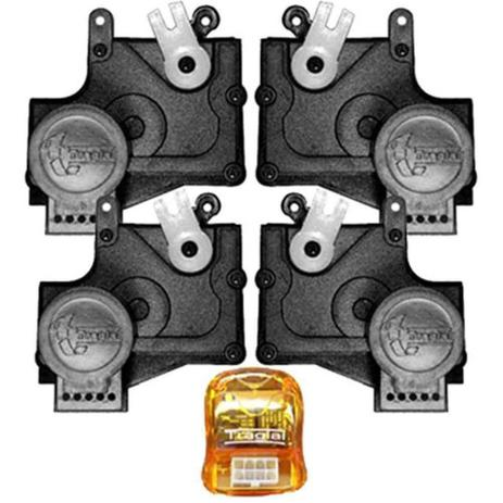 Imagem de Kit Trava Elétrica Pósitron Dedicada Toyota Etios 4 Portas