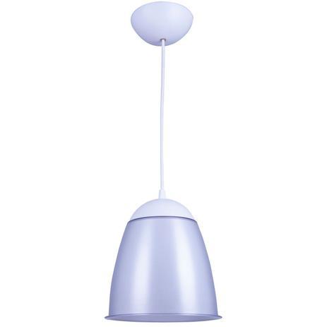 Imagem de Kit Utron 6 Lustres Luminária Pendente Cor Taça 20cm 4 Cores